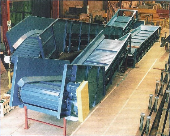 Steel Slat Conveyor